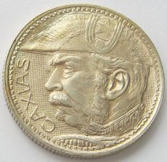 Brazil, Silver Coin, 2000 Reis 1935, One Year Type, Scarce, XF++/AUN !