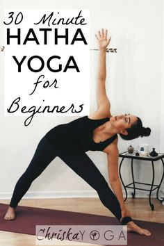 This is a 30 minute Hatha Yoga Class for Beginners. In this class we will be getting back to the yoga basics and moving at a gentle and slower pace.