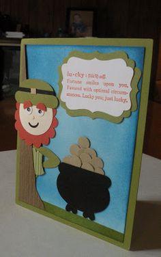 Carolyn's Paper Fantasies: Lucky Swap Card