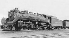 Old Train Pictures, Canadian Pacific Railway, Old Trains, U.s. States, Steam Engine, Steam Locomotive, West Virginia, British Columbia, Milwaukee