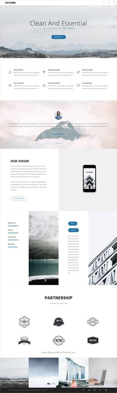Saturn is a Multiuse and Accurate responsive #WordPress Theme for #webdev any #minimal professional use like agency, business, freelance, studio, blog, portfolio or photography website with 20+ Homepage and 100+ inner pages download now➩  https://themeforest.net/item/saturn-multiuse-and-accurate-wordpress-theme/19220340?ref=Datasata