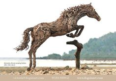 driftwood sculptures by james doran webb - Google Search