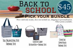 Thirty-One is keeping it cool in July! www.anchoredbagsbysarah.com