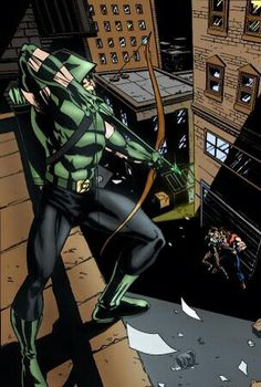 The Green Arrow! Comic Book Characters, Comic Book Heroes, Comic Character, Comic Books Art, Comic Art, Green Arrow, Comics Love, Dc Comics Art, Hq Marvel