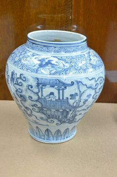 Arredamento D'antiquariato Altri Complementi D'arredo Collection Here Vaso Imari Ceramica Giappone Asia Xix S Antico Deco Orient Blu Rosso Attractive Appearance