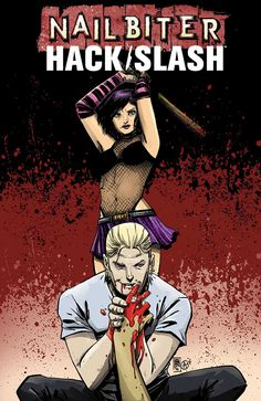 A crossover one-shot event of killer proportions—NAILBITER/HACK/SLASH—coming to Image Comics on March 4, 2015.