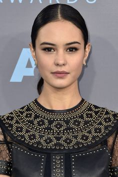 Slicked-back & wet-look hair took over the Critics' Choice Awards