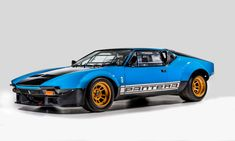 1973 De Tomaso Pantera Préparation (Chassis No. Us Cars, Sport Cars, Race Cars, Audi Rs, Mercedes Sprinter, Mercedes Benz, Maserati, Pantera Car, Reliable Cars