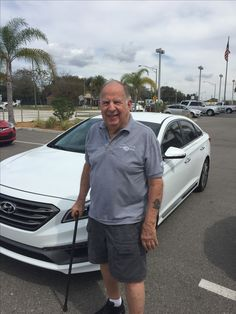 """Donald Blais left us with an """"exceptional"""" review after the purchase of his brand new 2016 Hyundai Sonata with the help of salesman Jason Knecht! Thank you so much Mr. Blais, we really appreciate your business! We hope that you are enjoying your new Hyundai and please; if there is anything that we can do, don't hesitate to ask… We are here to help! #LakelandAutomall #LakelandHyundai #2016Sonata #HyundaiSonata #Hyundai"""