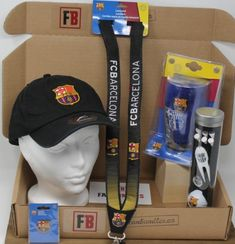 6 FC Barcelona Products* Content:  1Silver ($28> ea) +  2Copper ($20> ea) + 2Bronze ($12> ea) + 1Collector Pins/Novelty ($7> ea) Guaranteed 1 Headwear product in each box Every order includes a Certificate of Achievement - SUPER FAN with the name of the Fan (see sample) Every order gets 5 ballots for our FanGift, where fans can win discounts, free fanbundle, Signed Memorabilia, and more! (See Fan Gift page) Officially Licensed Merchandise $100+ Value Fc Barcelona, Barcelona Soccer, Certificate Of Achievement, Soccer Fans, Sports Gifts, Fan Gear, Cap, Content, Free