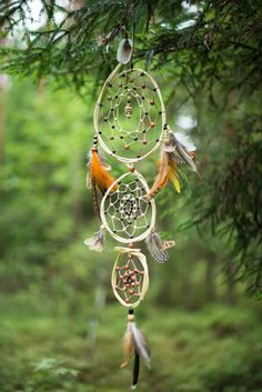 Large dream catcher Native american dream by MysteriousForests