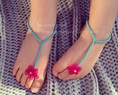 Baby barefoot sandals,toddler barefoot sandals,baby foot jewelry,baby shower gift, cute baby shoes, photo prop by Aupetitpied on Etsy https://www.etsy.com/listing/219904205/baby-barefoot-sandalstoddler-barefoot