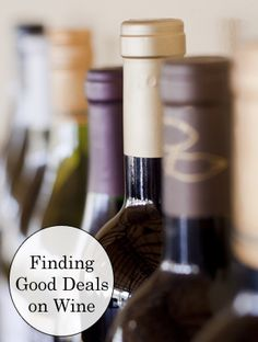 Thrifty ways for wine lovers to find good deals on favorite varietals and vintages.