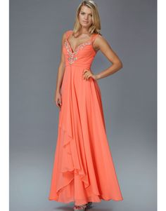 GL2023   Petals and Promises Prom   A stylish tank gown, this layered chiffon skirt lends itself to a playful and flirty look.