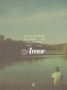 nada melhor do que só depender do Teu Amor. - @EuDanielaAraujo  #criadordomundo