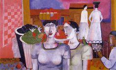 Women of Tehuantepec - Rufino Tamayo (1939)