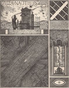 """""""Alexander Brodsky and Ilya Utkin are the best known of a loosely organized group of Soviet artists known as Paper Architects, who designed much but built little in the early days of Glasnost in the late 1980s."""""""