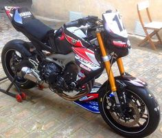Yamaha MT-09 (tuned)