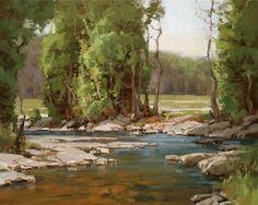"""Pole Creek"" - 24x30"