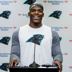 """from Carolina Panthers Cam Newton: """"I'm not taking any days for granted. My job is to be 100 percent."""""""