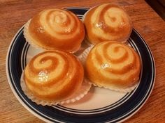 How To Make Milk Pudding Buns - YouTube