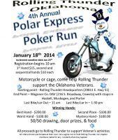 Coweta ok jan 18 2014 rolling thunder polar express all