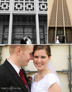Los Angeles LDS wedding portraits