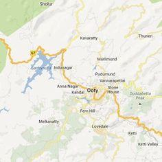 satellite map image of Ooty( Ooty Google Satellite, Satellite Maps, Ooty, Image