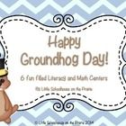 This pack includes 6 Groundhog themed Literacy and Math centers with recording sheets.    Included are:   Activity #1: Noun Sort - Person, place, t...
