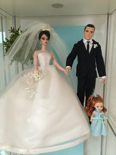 Bridal Sets, Bridal Gowns, Wedding Gowns, Barbie Wedding Dress, Princess Gowns, Bride Dolls, Dolls Dolls, Barbie World, Doll Face