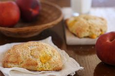 peaches cream scones 4 by crumblycookie, via Flickr