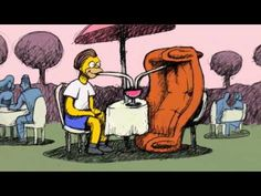 """THE SIMPSONS - Teaser for Bill Plympton Couch Gag from """"Beware My Cheating Bart"""""""