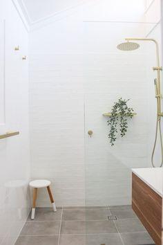 Bathroom Layout, Bathroom Interior Design, Laundry In Bathroom, Upstairs Bathrooms, Bathroom Showers, Bathroom Renovations Perth, Bathroom Trends, Bathroom Ideas, Minimalist Bathroom
