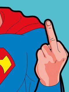 A intimidade dos super-heróis de Greg Guillemin  http://www.creativeboysclub.com/