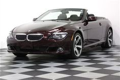 2008 BMW 650i Convertible:    Exterior ColorBarbera Red Metallic  Interior ColorSaddle Brown  Sold for 30K on Ebay