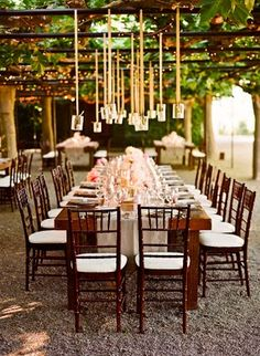 table setting outdoors love it