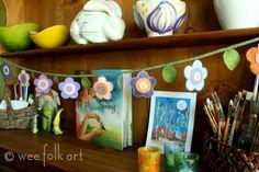 Shop :: Spring Flower Garland