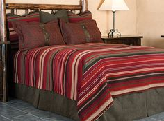 Western Bedding | Rustic Bedding | Western Duvet | Rustic Duvet | Southwestern Bedding | Made in the USA | Anteks Home Furnishings