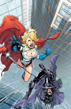 Huntress & Powergirl