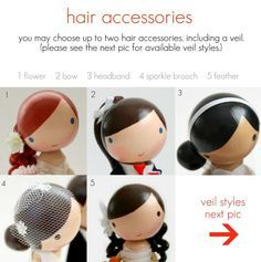 how to make hair for clothespin dolls - Google Search