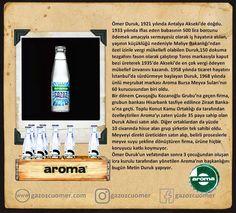 Aroma Gazoz / Efsane gazozlar Antalya