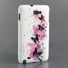 Butterfly Silicone Case for Samsung Galaxy Note N7000