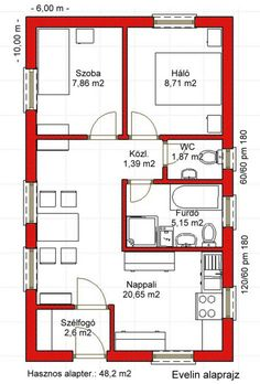 40x60 House Plans, Mini House Plans, Cottage Style House Plans, Model House Plan, Family House Plans, Bedroom House Plans, New House Plans, Dream House Plans, Small House Plans