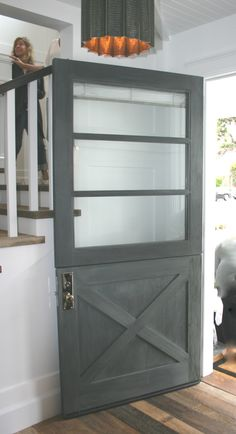 Exceptional Featured On The 2015 Love The Idea Of A Modern Dutch Door (not Front, But  Interior Or Back Patio)