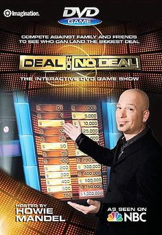 DVD GAME SHOW Deal or No Deal Howie Mandel - Interactive (DVD, 2007) NEW SEALED Camping Tv Show, Howie Mandel, Two Player Games, Nbc Tv, Trivia Games, Party Games, Tv Show Games, Tv Land, Best Tv Shows
