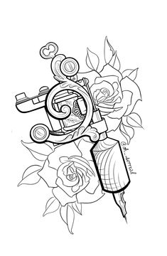 Tattoo Design Drawings, Tattoo Sleeve Designs, Tattoo Sketches, Sleeve Tattoos, Circle Tattoos, Mini Tattoos, Body Art Tattoos, Tattoo Outline Drawing, Black And White Flower Tattoo