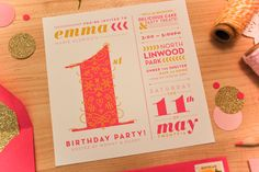 22 wonderful (and well designed) birthday invitations