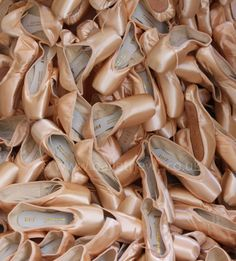 Ballet shoes! www.balletnews.co.uk