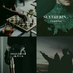 Aesthetic: Hogwarts House Stereotypes as Shit My Best Friend Says | Slytherin