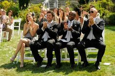 """Front row seats for Lassiter's wedding in, """"Deez Nups. Psych Memes, Psych Quotes, Psych Tv, Fandom Memes, Best Tv Shows, Best Shows Ever, Favorite Tv Shows, Psych Season 7, Mystery Tv Shows"""